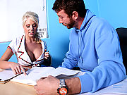 Big Titted Student fucked hard in classroom