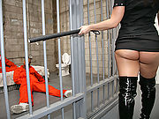 Katja Kassin gets fucked by big cocked inmates
