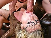 Harmony Rose gets a double stacker of cocks