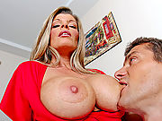 Busty Mom still got the groove and busts a nut on a stranger