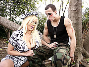 Shyla Stylez is Americas number one GI Jane Rambina